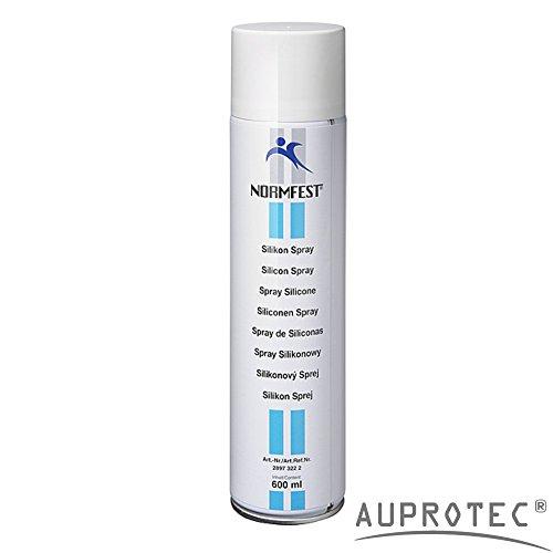 AUPROTEC Silikonspray Eco XXL Silicon Schmier Spray Trennmittel Kunststoffpflege Spray 1x 600ml