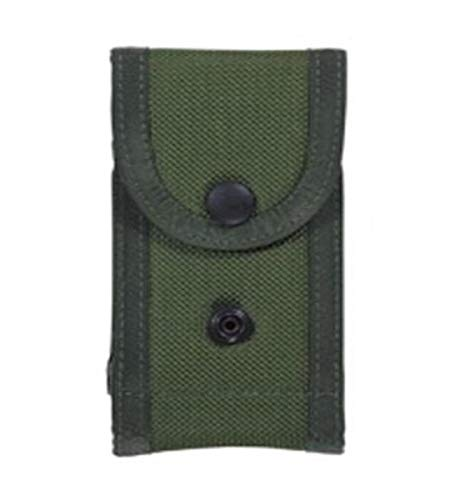 Bianchi, M1025 Military Double Magazine Pouch, Olive Drab, Size 02