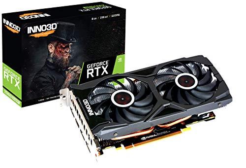 Inno3D NVIDIA GEFORCE RTX 2060 Super Twin X2 OC Gaming Graphic Card - N206S2-08D6X-1710VA15L