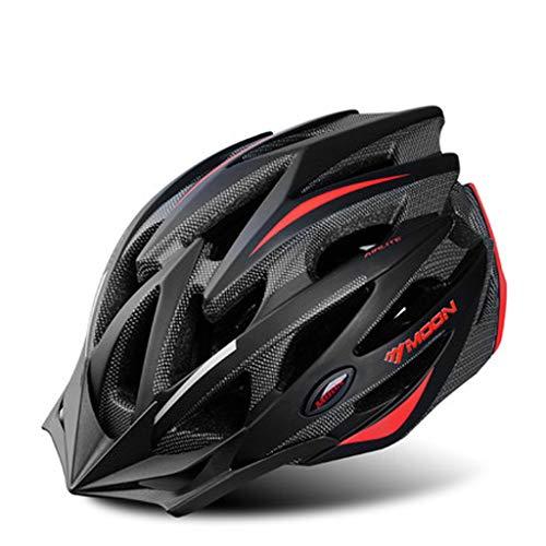 JM- Fahrradhelm Männer und Frauen Straße Mountainbike Helm Ausrüstung Fahrrad Unruh Rad Rutsch Schutzhelm