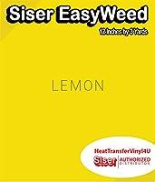 Siser EasyWeed アイロン接着 熱転写ビニール - 12インチ 3 Yards HTV4USEW12x3YD