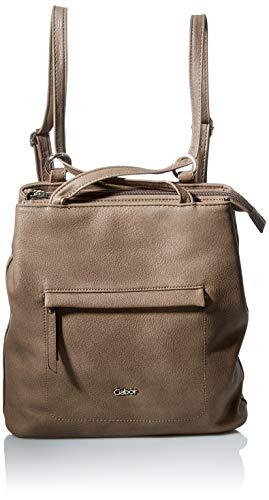 Gabor Damen Mina Backpack, Taupe, M