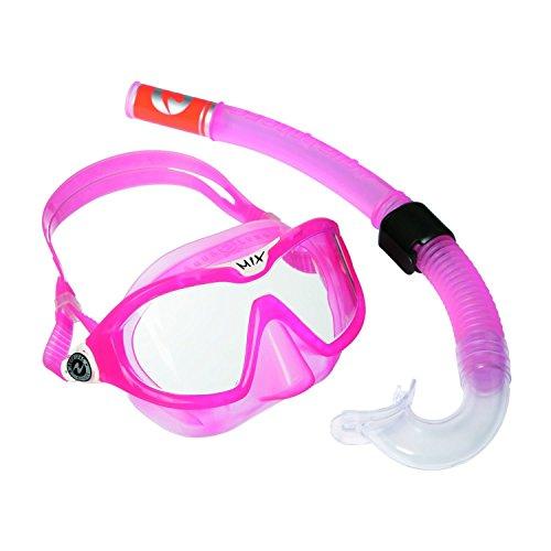Aqua Lung Sport Mix Maske und Schnorchel Combo S Clear Lens/Pink