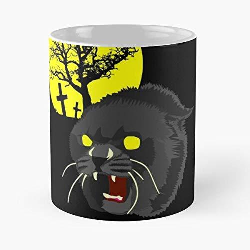 George of Horror Romero Walking Day Undead The Zombie Dead Bub Zombies Taza de café con Leche 11 oz