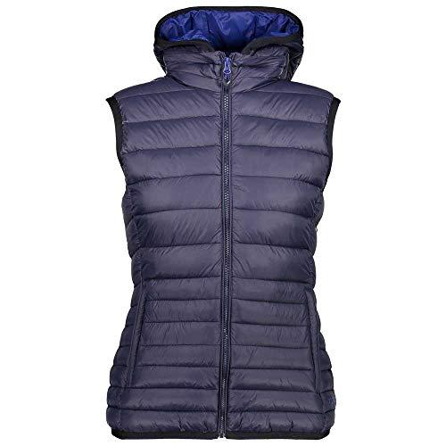 CMP Woman Zip Hood Vest Blue XS