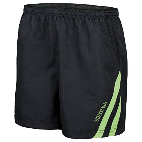 Tibhar Shorts Stripe, L, schwarz