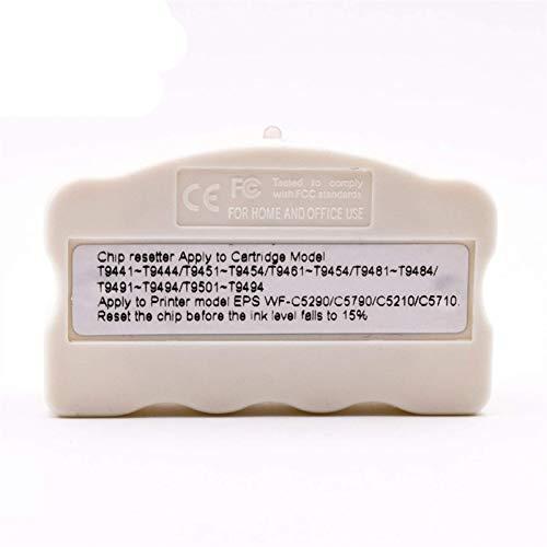 Neigei Accesorios de Impresora T9661 T9651 T9641 Cartuchos Originales Restablecimiento de Chips Compatible con Epson Workforce Pro WF-M5299DW WF-5799DW WF-5298DW M5299 M5799 M5298