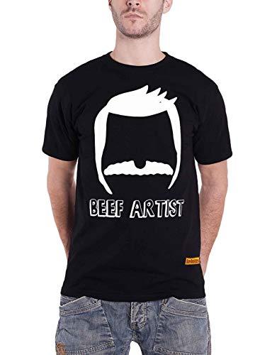 Bobs Burgers T Shirt Beef Artist TV Show Logo Nue offiziell Fox Herren