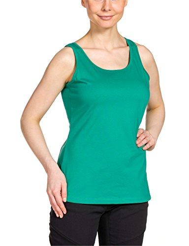 Jack Wolfskin Damen Shirt Lismore OC Top W, Deep Mint, XL
