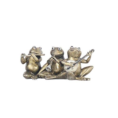 SHILONG Artisanat De La Grenouille De La Chambre des Enfants Créatifs Rétro Personnalité Personnalité Maison Chambre Table De Chevet Meuble TV Décoration Ornements (Size : 18 * 12 * 7cm)