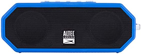 Altec Lansing IMW449 Jacket H2O 4 Rugged Floating Ultra Portable Bluetooth Waterproof Speaker with up to 10 Hours of Battery Life, 100FT Wireless Range and Voice Assistant Integration (Royal Blue)