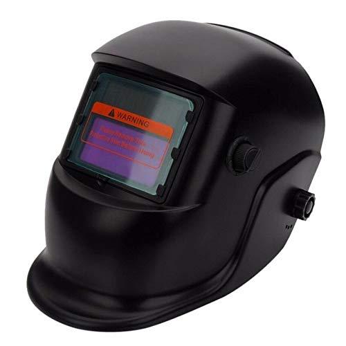 Shang Jiangan Eine Abdeckung Glasmaske Schutzausrüstung Verstellbereich des automatischen Schweißhelm Solar-rosa (Color : A-1)