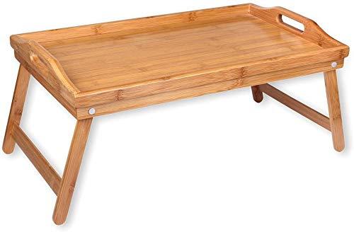 Bandeja desayuno para cama, mesa plegable para cama, bandeja plegable. Mesita cama, desayuno. Mesa bambú.