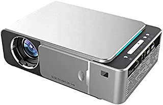 AMERTEER T6 Android 7.1 WIFI Smart Optional HD LED Portable Mini Projector support 1080p Video For Home Theater Game Movie...