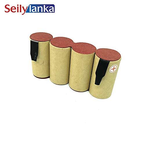 Seilylanka 3000mAh per karcher 4.8 V Ni MH Batteria pacchetto CD aspirapolvere scopa K50 1.258-101.0 per auto-installazione