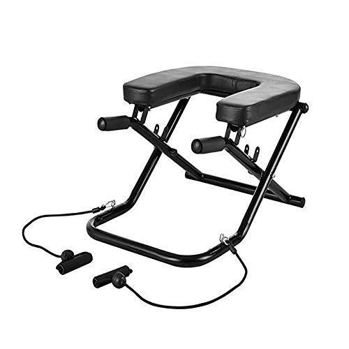 For Sale! 2-in-1 Yoga Inversion Chair, Adjustable Yoga Headstand Bench Idea for Workout, Fitness and...