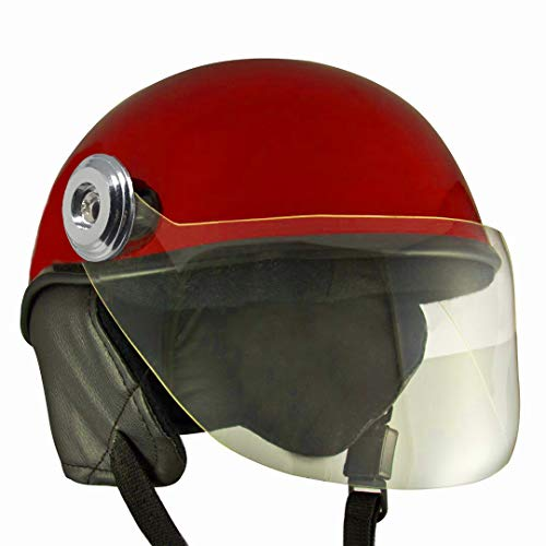 Anokhe Collections Lively Unisex Scooty Helmets, Medium, Red