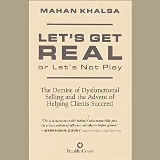 Let's Get Real or Let's Not Play audiobook cover art