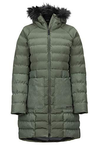 Marmot Damen Isolierte Winterjacke, Stylischer Warmer Parka, Wasserdicht, Winddicht Wm's Margaret Featherless JKT, Crocodile, XL, 79790