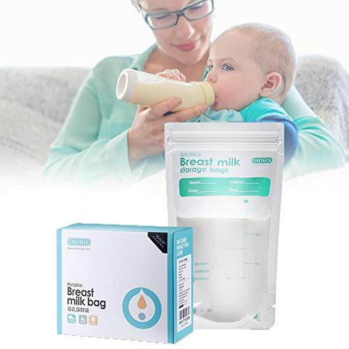 Eternitry Paquete De 30 Bolsas De Almacenamiento De Leche Materna Congelador De Lactancia Contenedor De Almacenamiento A Prueba De Fugas Para Leche Materna decent