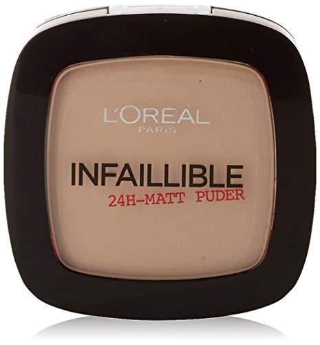 L'Oréal Paris, Cipria Infaillible 24 H, 225, Beige, 1 x 9 g