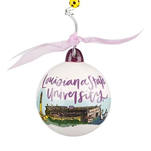 Glory Haus LSU Tigers Landmark Ball Ornament
