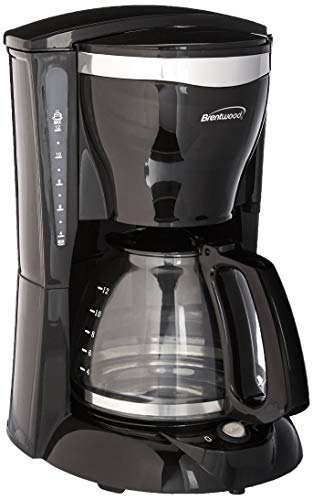 Brentwood TS-217 12 Cup Coffee Maker, Black