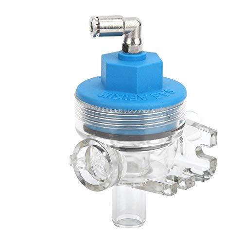Qiter 5/8 Vakuum-Absperrventil für digitales elektrisches Milchmessgerät für Rinderschafmilch Elektronisches Durchflussventil-Absperrventil