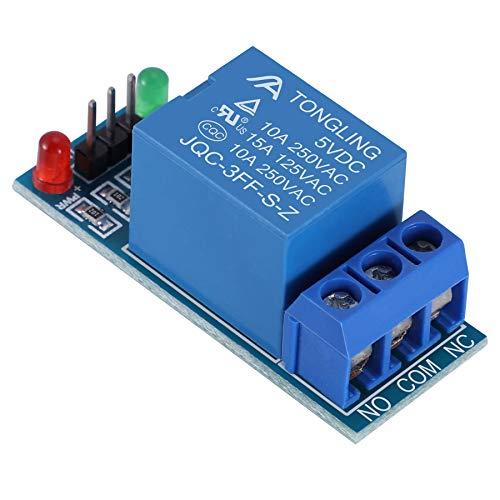 Babysbreath17 Profundidad de Color 1/2/4/8/16 5V Placa de relés de Canal Módulo acoplador óptico LED de sustitución para los PIC de Arduino AVR Arm 2 5.3 * 2.83 * 1.93cm
