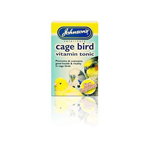 6 x Johnson's Caged Bird Vitamin Tonic 15ml