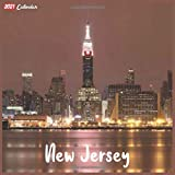 New Jersey 2021 Calendar: Official New Jersey Wall Calendar 2021, 18 Months