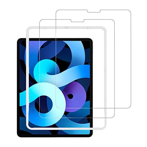 NIMASO iPad Air 4 (2020)   iPad Pro 11 (2021   2020   2018) 用 ガラスフィルム 保護フィルム ガイド枠付き 2枚セット NTB19J43