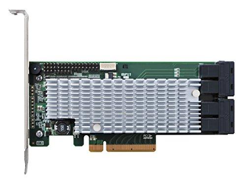 High Point RocketRAID 2840A PCIe 3.0 x8 16-Channel 6Gb/s SAS/SATA RAID Host Bus Adapter