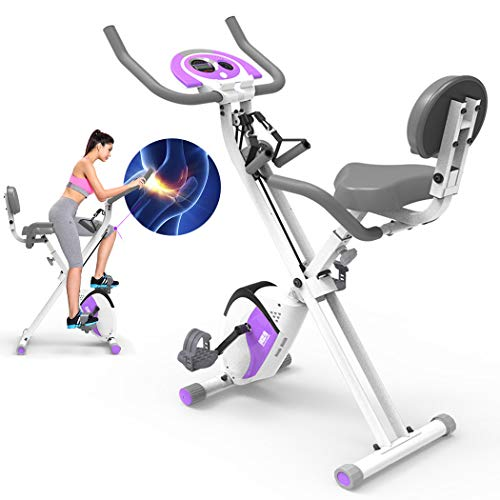 Opvouwbare hometrainer met trekkoord, aërobe fitnessmachine Indoor hometrainer met LCD-scherm Afvallen Fitnessapparatuur Verstelbare stoel