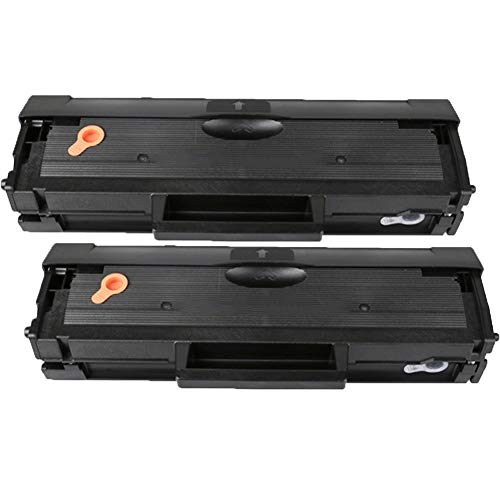 RRWW B1160 LaserJet Toner Cartridge for Dell B1160 B1160w B1163 B1165nfw,Black, Pack of 2, Compatible Consumables Replacement-2 black