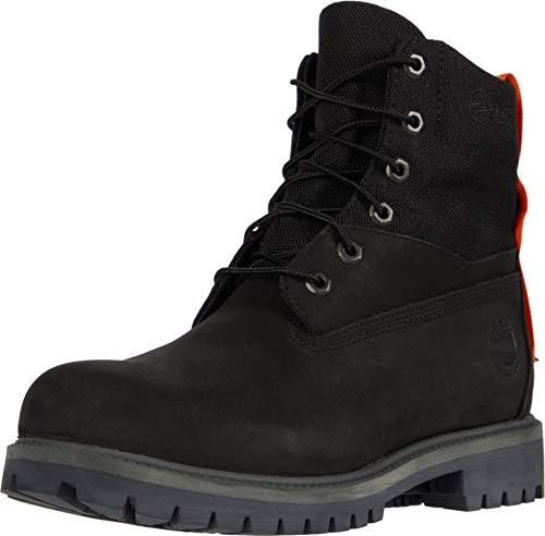 "Timberland Treadlight 6"" Waterproof Treadlight Boot Black Nubuck 11 D (M)"