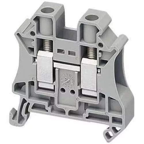 Schneider NSYTRV102 Linergy Klemmleiste zur Durchl, 10mm2, 57A, 1 Ebene, 1x1, Schraube, grau