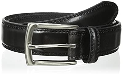 Dockers Men's Feather-edge Belt,Black,42