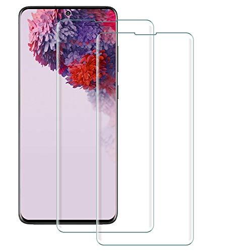 Bodyguard - Pellicola protettiva per Samsung Galaxy S20, compatibile con sensore di impronte digitali, ultra sottile HD, copertura completa, senza bolle, antigraffio
