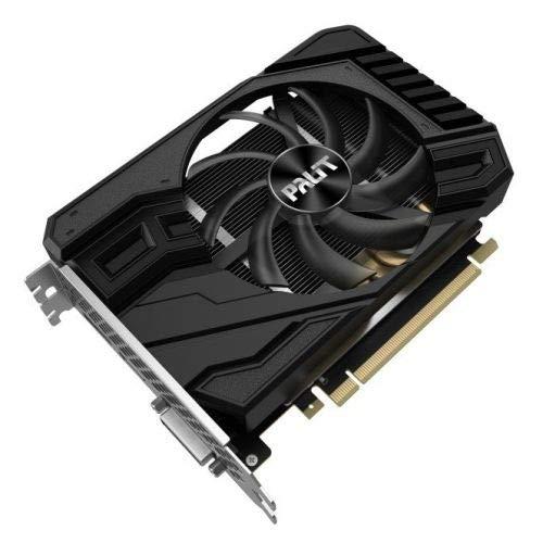 Palit RTX2060 StormX 6GB DDR6 NE62060018J9-161F Grafikkarte 6GB GDDR6 NE62060018J9-161F, 6GB, GDDR6, 192 bit, PCI Express x16 3.0, 1 Lüfter