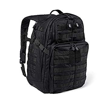 5.11 Tactical Backpack ? Rush 24 2.0 ? Military Molle Pack, CCW and Laptop Compartment, 37 Liter, Medium, Style 56563 ? Black