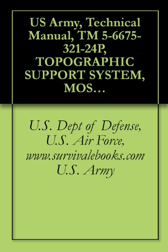 US Army, Technical Manual, TM 5-6675-321-24P, TOPOGRAPHIC SUPPORT SYSTEM, MOSAICKING/DRAFTING SECTION, MODEL ADC-TSS-10, (NSN 6675-01-106-6815) (English Edition)