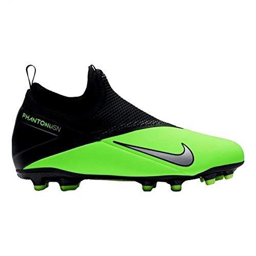 Nike Jr Phantom Vision 2 Academy DF MG Youth Soccer Cleats (Numeric_2_Point_5)