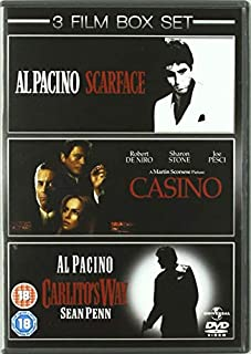 Scarface/Casino/Carlito's Way [DVD] (B001DTKXV8) | Amazon price tracker / tracking, Amazon price history charts, Amazon price watches, Amazon price drop alerts