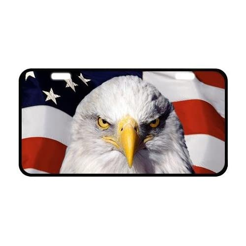 Eagle Chief Native American Eagle Spirit Personalized Novelty Front License Plate Decorative Car Tag