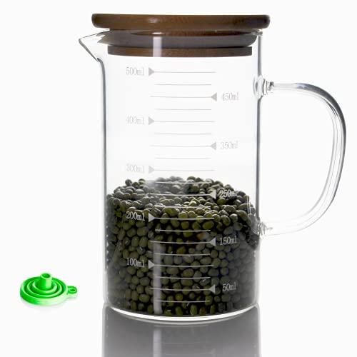 taza medidora de vidrio 500 ml fabricante JIANGJING