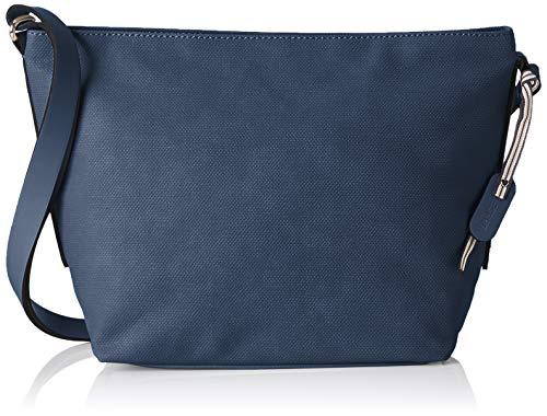 Esprit Accessoires Damen Ruby Shldbag Umhängetasche, Blau (Navy), 14x24x26 cm