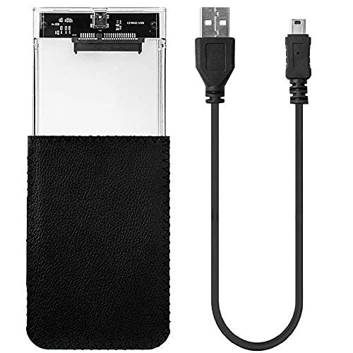 Case Gaveta HD Transparente USB 2.0 c/bolsa - BM-758