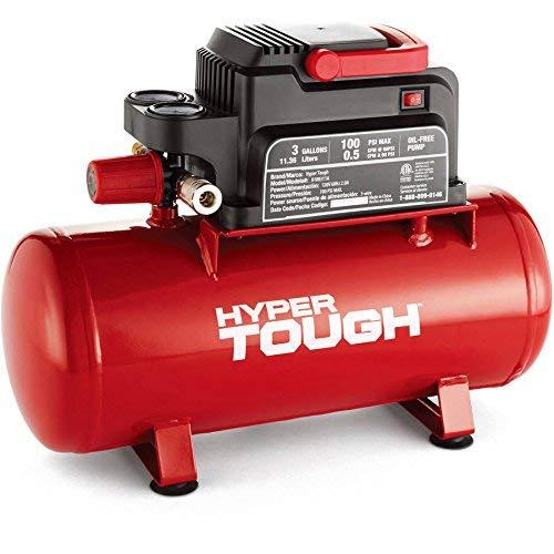 Hyper Tough 0100311A 3-Gallon Air Compressor