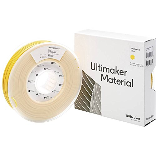 Filamento per stampante 3D Ultimaker ABS - M2560 Yellow 750 - 206127 Plastica ABS 2.85 mm Giallo 750 g